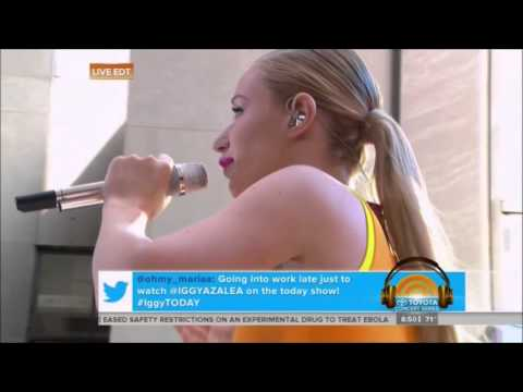 Iggy Azalea - Work (Live @ Today Show)