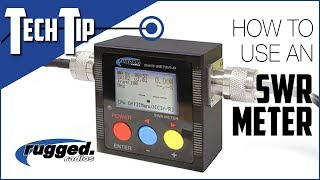 In this tech tip video, rugged radios provides you a crash course the basics of using an swr meter to test power and performance your 2-way radio a...