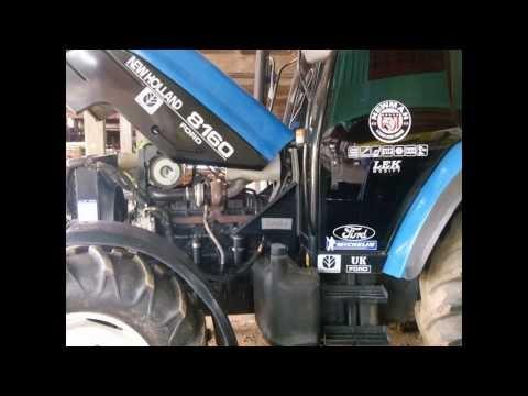 Tractor ford 6610 big turbo (รถไถฟอร์ด6610 เทอร์โบใหญ่) By.Lekmodify