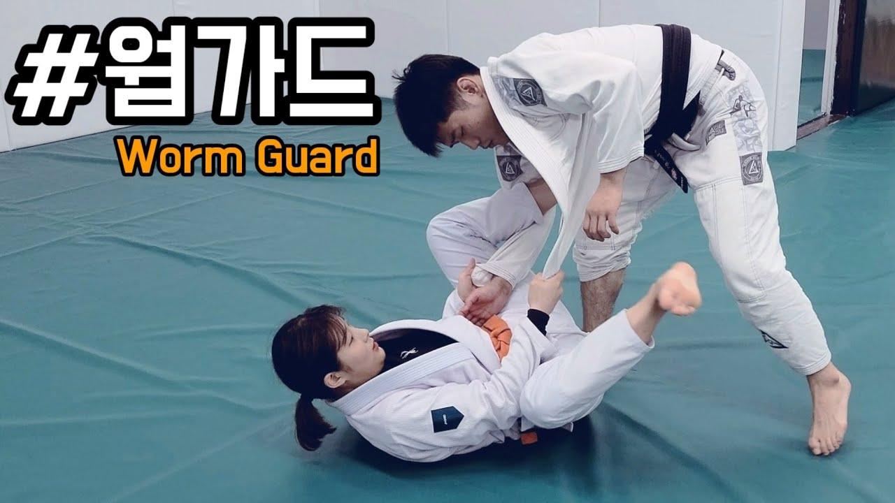 사기적인 방어력과 강력한 공격이 가능한 주짓수 기술 [웜가드 Worm guard] (ft.이바름)