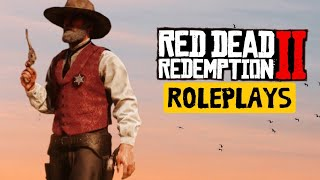 """Red Dead 2 Online Roleplay """"THE STORY OF JOHN Dillinger"""