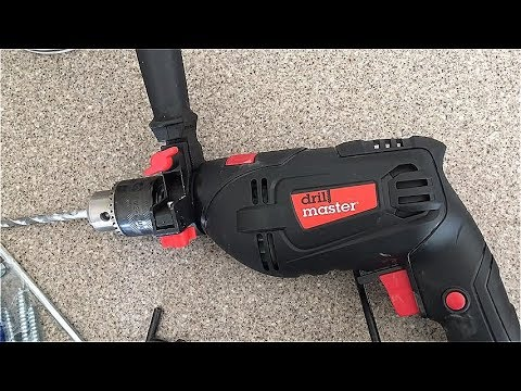 """REVIEW: DrillMaster 1/2"""" Hammer Drill -- Harbor Freights Deal!"""