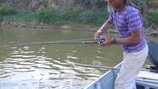 pescaria de dourado Rancho Tuiuiu, Rio paracatu.  www.rioparacatu.com