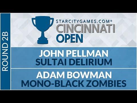 SCGCIN - Round 2b - John Pellman Vs Adam Bowman (Standard)