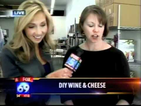 Homemade Wine and Cheese
