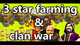 【JLcoc74】3 stars Farming and clan war for TH10!