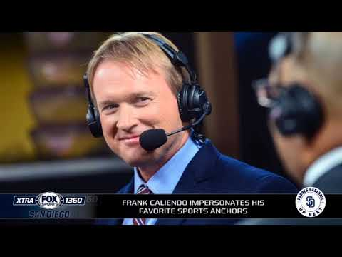 Frank Caliendo impersonates various people