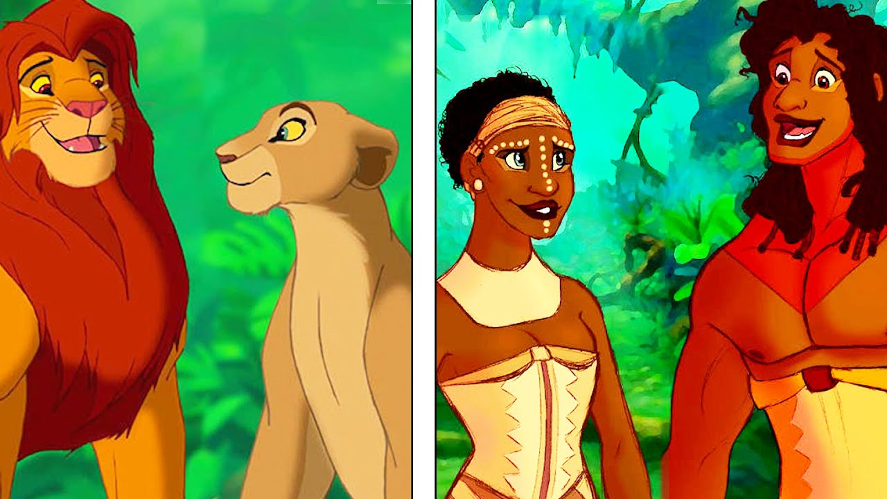 what would disney animals look like as humans youtube