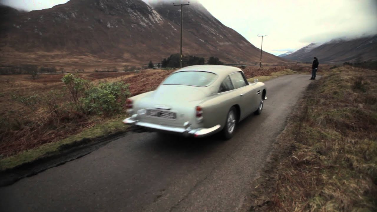 007 skyfall aston martin - youtube