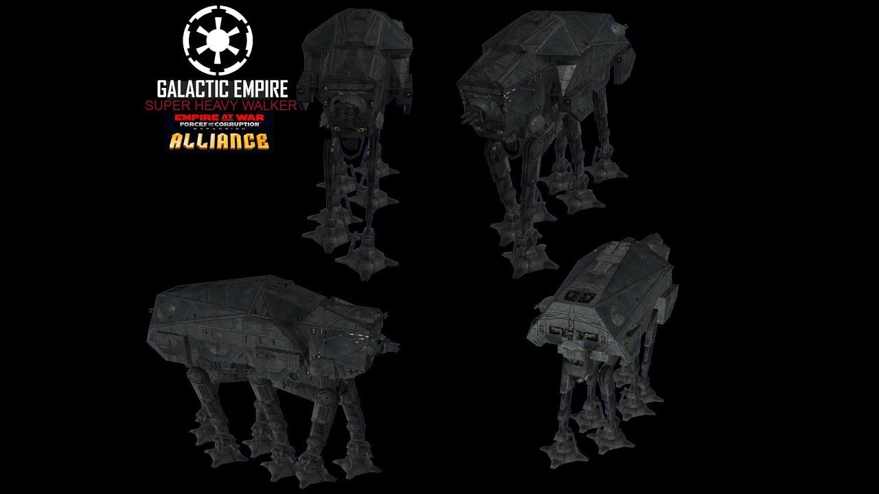 Super Heavy Walkers vs Black Sun – Star Wars Empire at War FOC Rebellion