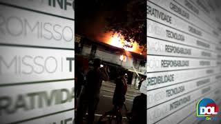 Incêndio destrói casa no bairro do Telégrafo. Veja!