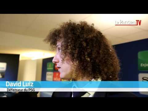 David Luiz : «Pas mal mon français non ? »