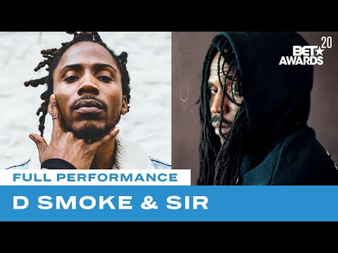 """D Smoke & SiR Perform """"Let Go"""" And """"Black Habits""""   BET Awards 20"""