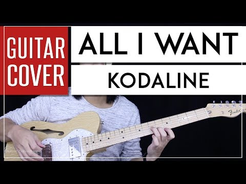 All I Want Guitar Cover Acoustic - Kodaline 🎸 |Tabs + Chords|