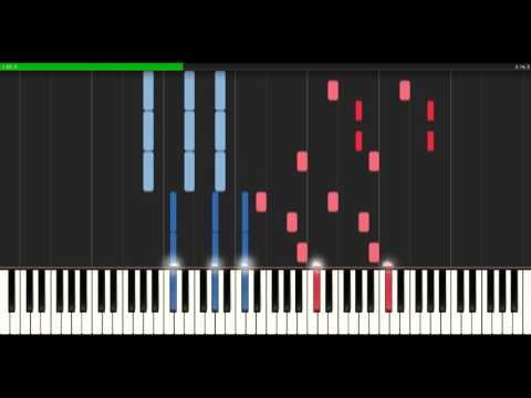 Alan Walker - Force [Piano Tutorial] (Synthesia)