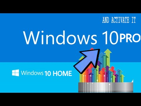 win 10 home to win 10 pro