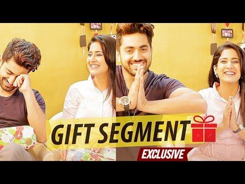 Zain Imam & Aditi Rathore receive gifts from Fans   Exclusive   Naamkarann thumbnail