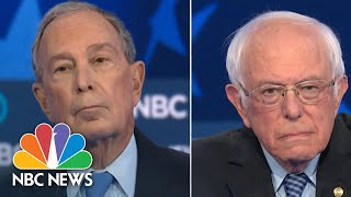 Bernie Sanders, Mike Bloomberg Spar Over Who Has A Better Chance To Beat Trump | NBC News