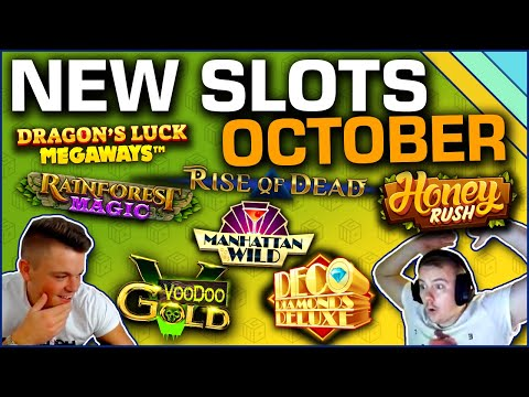 Best New Slots Of October 2019