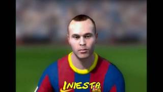Fifa 11 / Player Faces (FC Barcelona & Real Madrid)