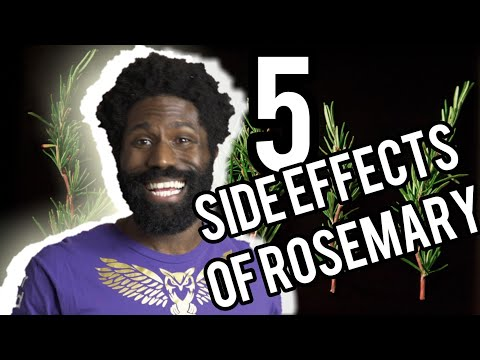 Five Side Effects of ROSEMARY and how they can hurt you!