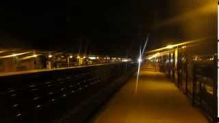 Acela Express 2172 At Night