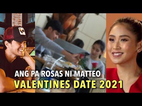 A GREETING from SARAH G   MATTEO Guidicelli SURPRISE VALENTINES DATE for Sarah KA ABANG ABANG !