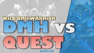 Hearthstone | DMH vs Quest | Wild Dead Man's Hand Warrior | Legend Gameplay