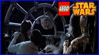 LEGO Star Wars the Empire Strikes Back - Millenium Falcon Asteroid Field & Boba Fett!