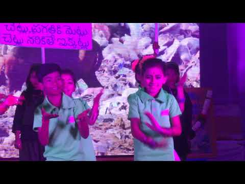 DANCE ON SWATCH BHARATH BY4th & 6th STUDENTS