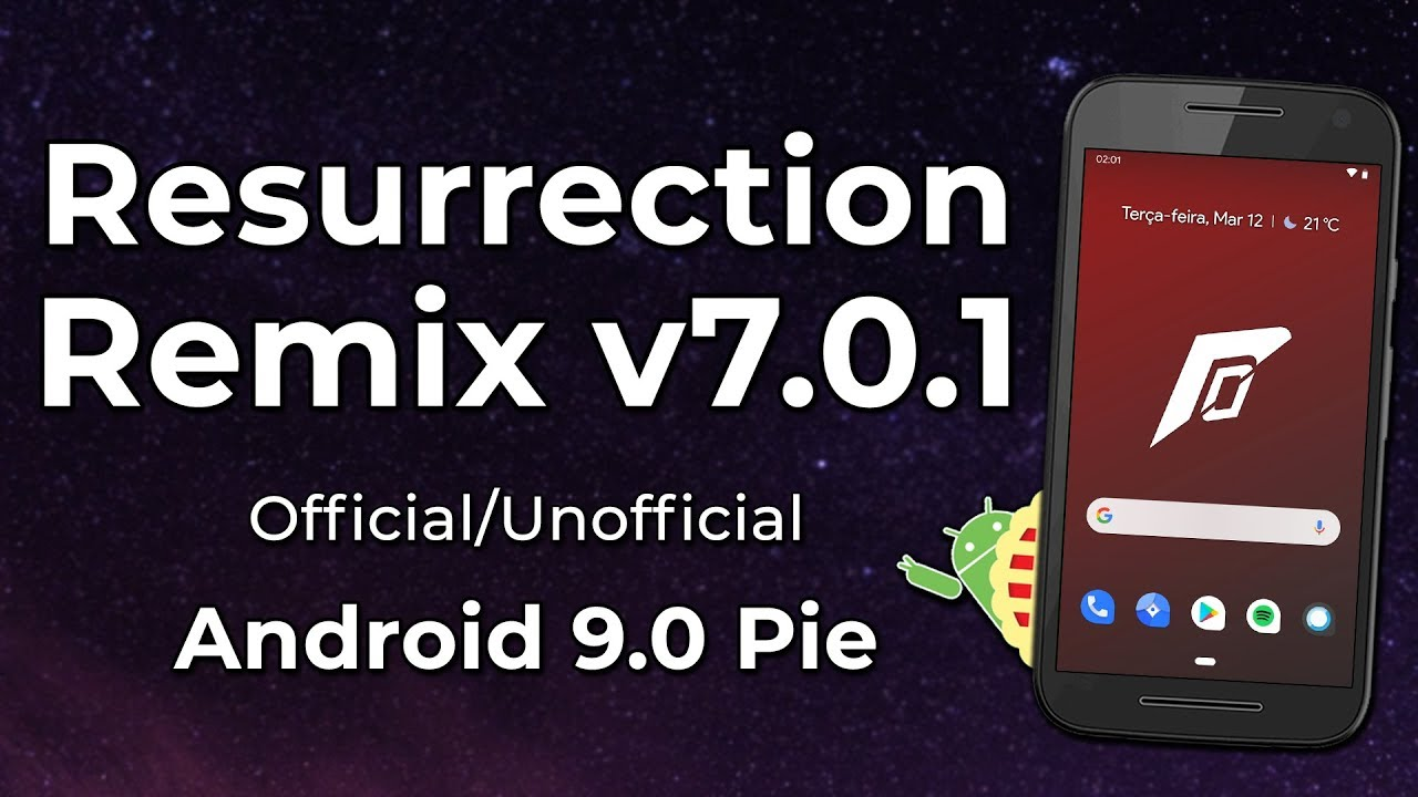 Resurrection Remix Pie v 7 0 1 | Android 9 0 Pie | BEST ANDROID ROM WITH  PIE?