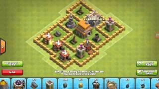 Clash Of Clans / 6.Seviye Köy Binası Yer Düzeni ( 1.Bölüm )