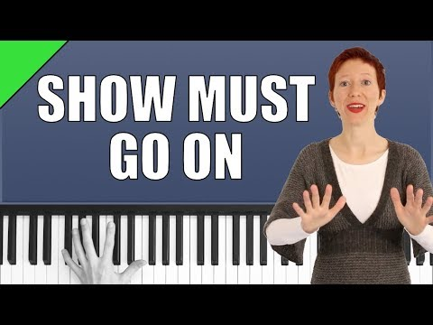 Show must go on - Queen - Piano Tutorial thumbnail