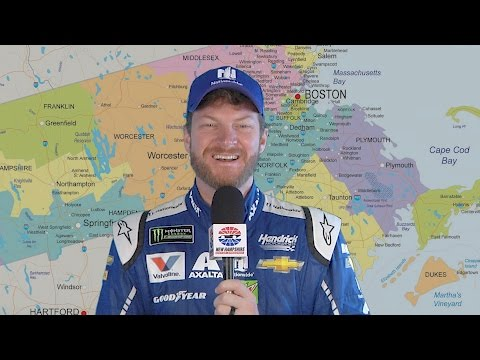 Listen to NASCAR drivers try to pronounce Worcester and other Massachusetts town names (video)