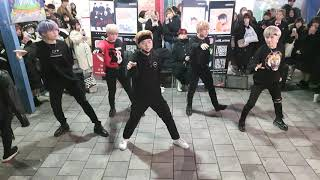 안타레스(Antares)/ 박수(CLAP) - SEVENTEEN(세븐틴) 20200216 홍대버스킹 DANC…
