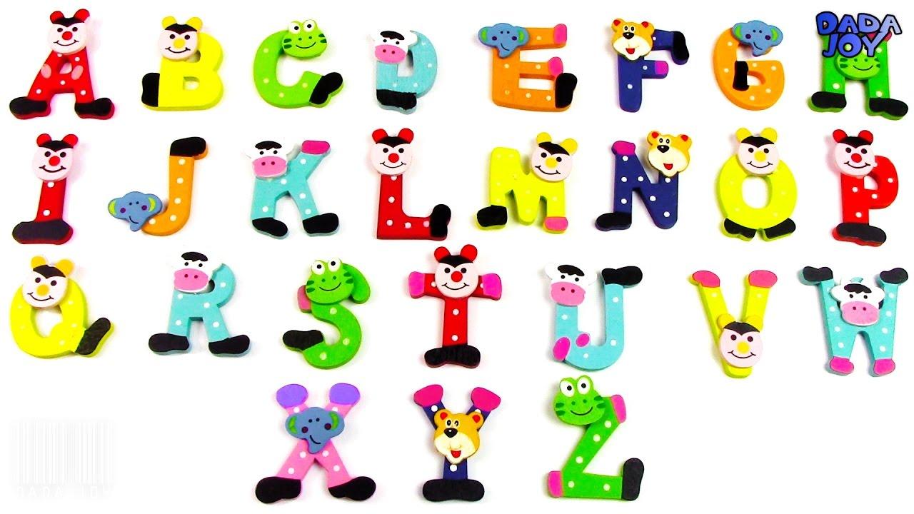 aprender el alfabeto abc abecedario en español para niños niños que