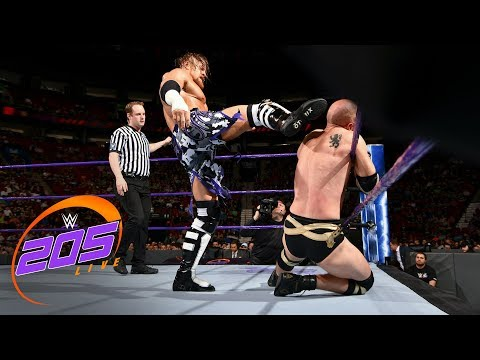 Buddy Murphy def. Local competitor: WWE 205 Live, May 1, 2018