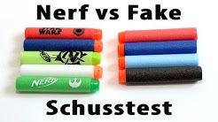 Nerf vs Fake Darts [deutsch/german]
