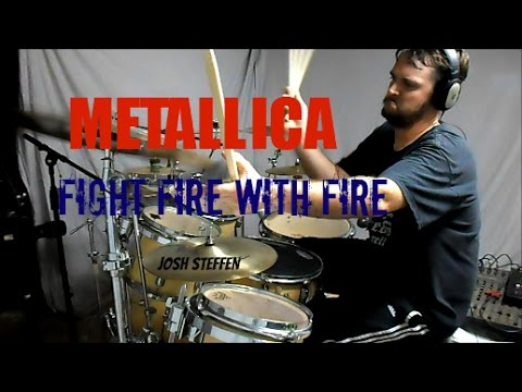 METALLICA - Fight Fire with Fire (mobile link in description) - Drum Cover