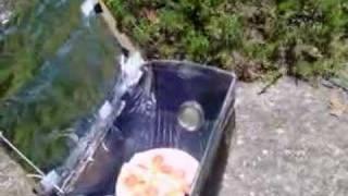 Shoe Box Solar Oven