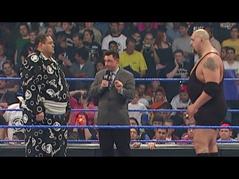Big Show and Akebono have their official WrestleMania weigh