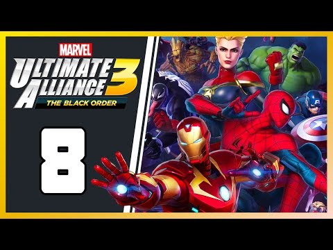 Marvel Ultimate Alliance 3 | Part 8: Trouble at Avengers Tower |