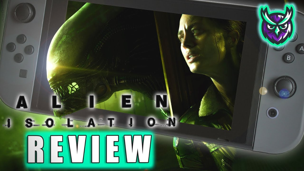 Alien Isolation Nintendo Switch Review-Suvival Horror Terror (Video Game Video Review)