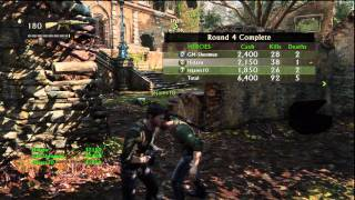 Uncharted 3 Multiplayer Beta - Co-op Arena 1