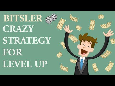 Bitsler Crazy Strategy For Level Up Битслер стратегия как набить уровень