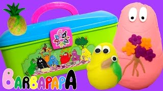Play Doh Barbapapa Molds and Shapes Toy Review -