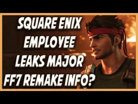 Square Employee Leaks Major Final Fantasy 7 Remake Info!?