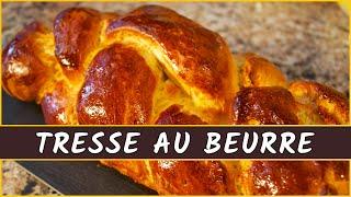Recette de la tresse au beurre suisse