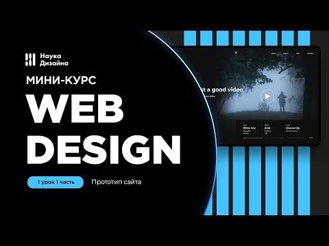 Мини-курс «Web Design». Урок 1-1. Прототип сайта