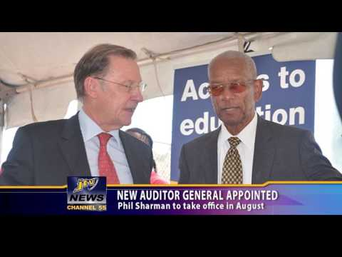 NEW AUDITOR GENERAL APPOINTED